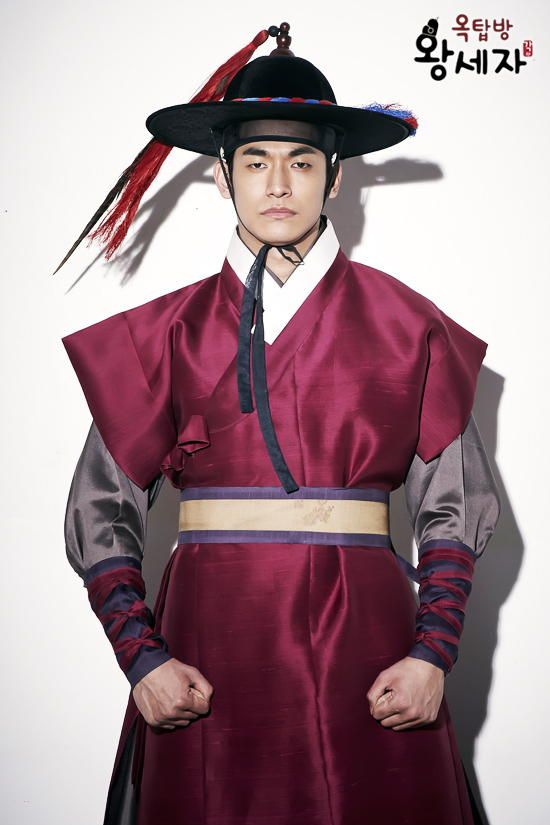 Jung Seok Won as Joseon Woo Yong Sul in rooftop prince! ♡ He's my fave!