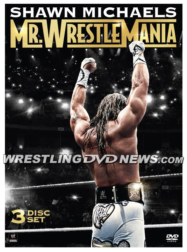 "Content Listing for WWE's ""Shawn Michaels: Mr. WrestleMania"" DVD and Blu-ray Set - http://www.wrestlesite.com/wwe/content-listing-wwes-shawn-michaels-mr-wrestlemania-dvd-blu-ray-set/"