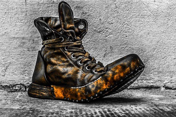 Nihomano Opanca sneaker Orange