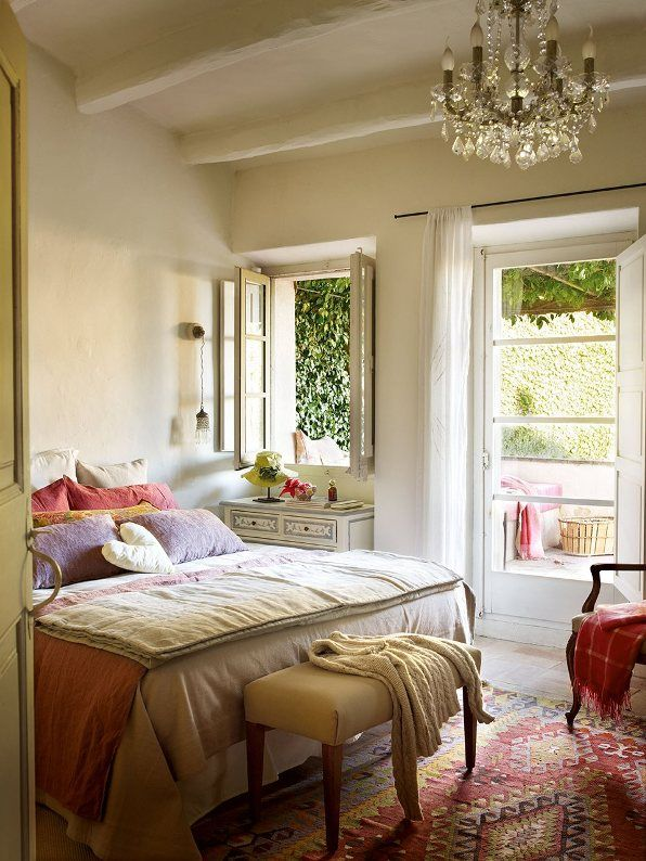 dormitorio con terraza chill out chicanddeco