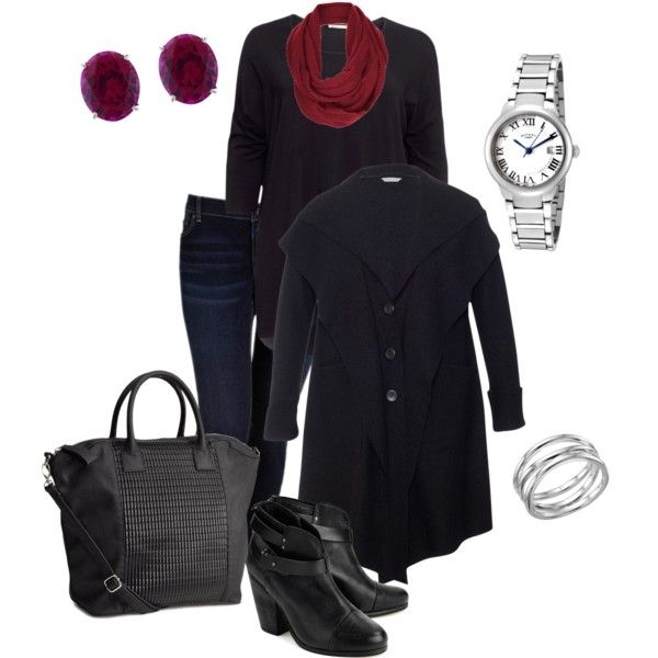 Winter 6- Plus size outfit