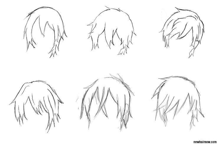 Best 25+ Anime Boy Hair Ideas On Pinterest
