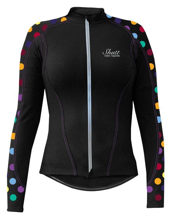 Women's Winter Cycling Jersey | Marianne Thermo Roubaix Long Sleeve Jersey | Shutt Velo Rapide |