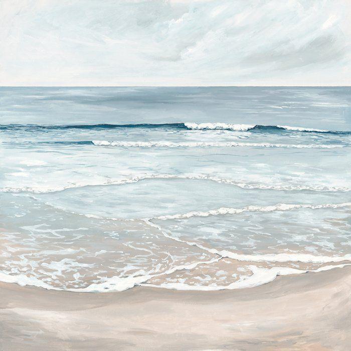 beach decor Oceanside:Beach watercolor painting or fine art prints framed coastal art, ocean painting ocean print beach print