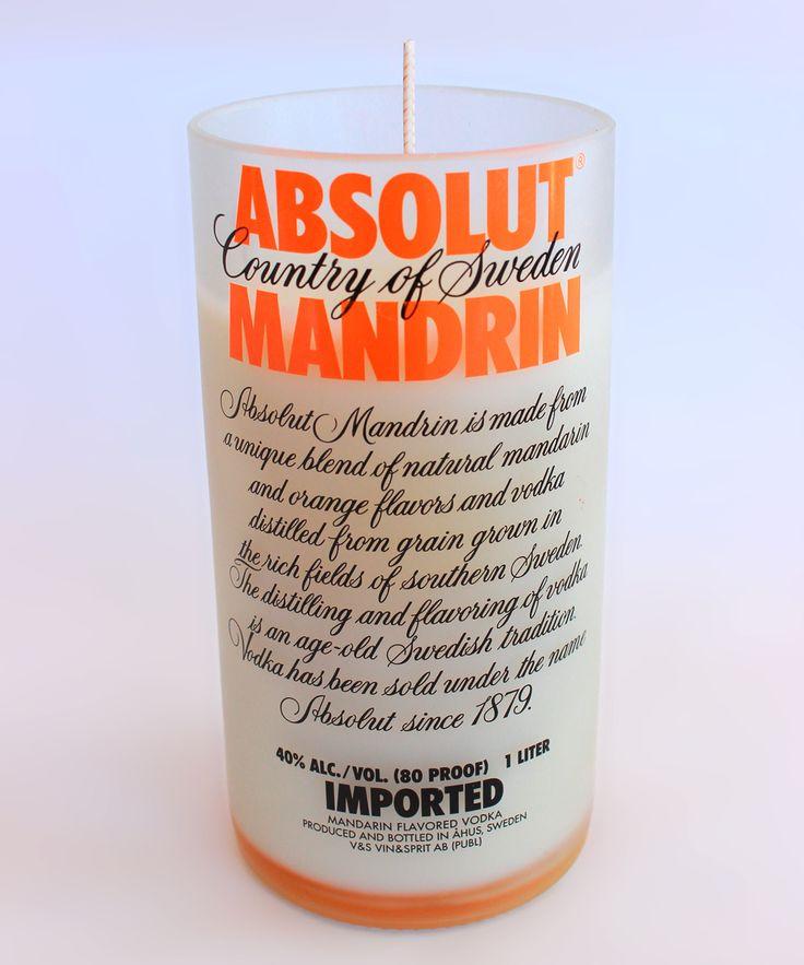 Orange Absolut Mandarin Candle
