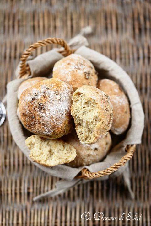 Petits pains faciles à l'épeautre