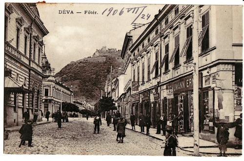 Deva - Piata Centrala - 1906