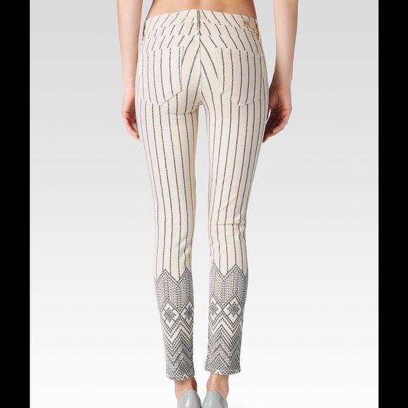 Beige Verdugo Ankle Sirius Chain Print Beige Verdugo Ankle Sirius Chain Print~ so sexy Paige Jeans Jeans Skinny