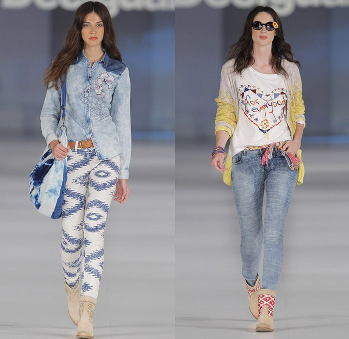 Latest Trend In Jeans For Women 2014
