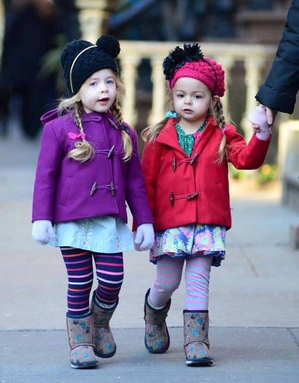 Sarah Jessica Parker's daughters like to wear bold colors and prints... Find our what are fashion preferences of other celebrity kids.