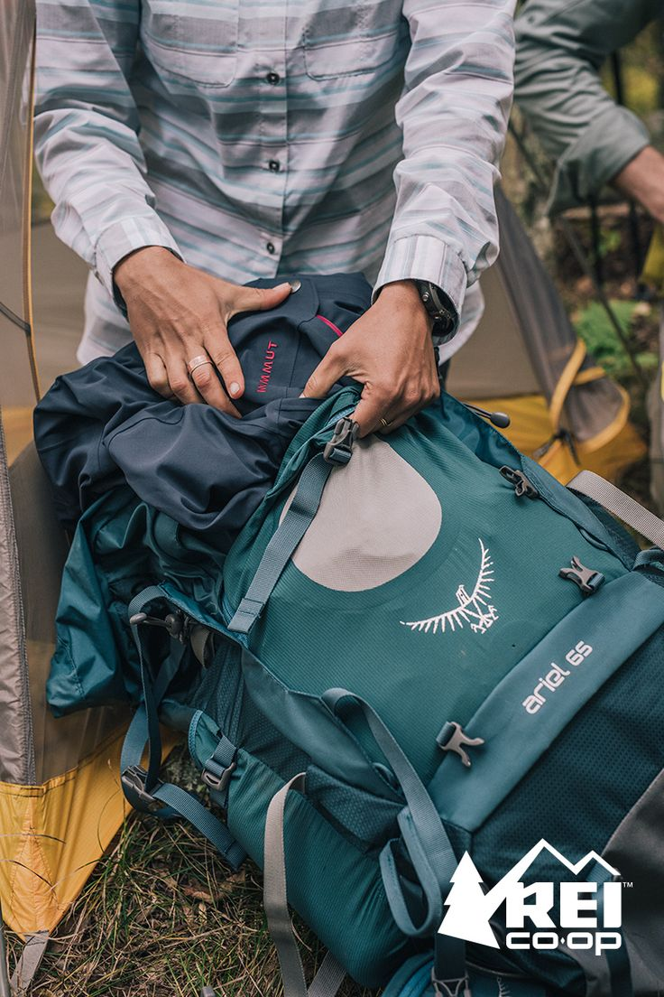 Working on your gear list for a backpacking trip? Check out the women's Osprey Ariel 65 Pack. With a heat-moldable hipbelt and excellent load support, this multiday pack boosts comfort for long stints in the backcountry. Shop now at REI.com.