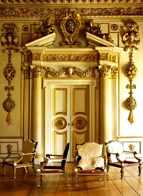 Wilton House, Salisbury in Wiltshire. Inspiration for interior of Ross's house