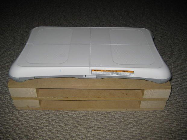 Picture of Wii Fit - modular balance board riser
