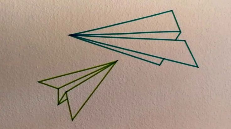Washi Tape Paper Airplane