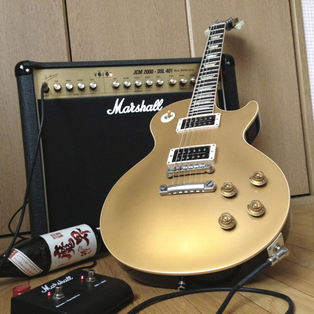 Gibson Les Paul Reissue 1957 & Marshall JCM2000 DSL401