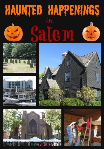 Haunted Happenings in Salem!