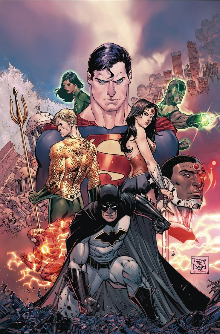 JUSTICE LEAGUE #1 Written by BRYAN HITCH Art by TONY S. DANIEL and SANDU FLOREA Cover by TONY S. DANIEL
