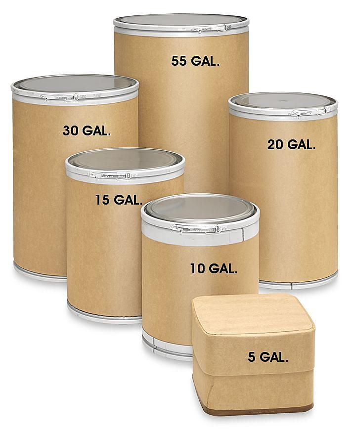 Fiber Drums 55 Gallon Fiber Drums Cardboard Barrels In Stock Uline In 2020 Barrel 55 Gallon Fiber