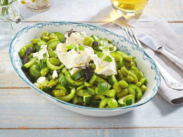 Unser beliebtes Rezept für Dicke-Bohnen-Gurken-Salat mit Feta und mehr als 55.000 weitere kostenlose Rezepte auf LECKER.de.