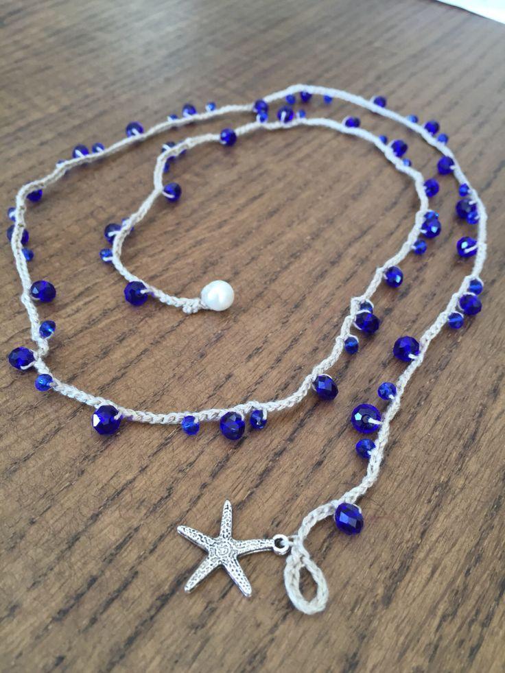 Un preferito personale dal mio negozio Etsy https://www.etsy.com/it/listing/480530543/collana-cristalli-blu