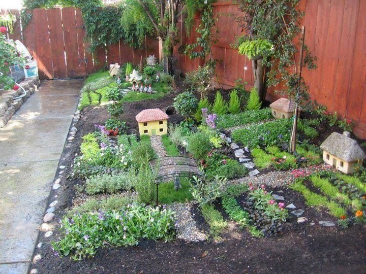 fairy garden village
