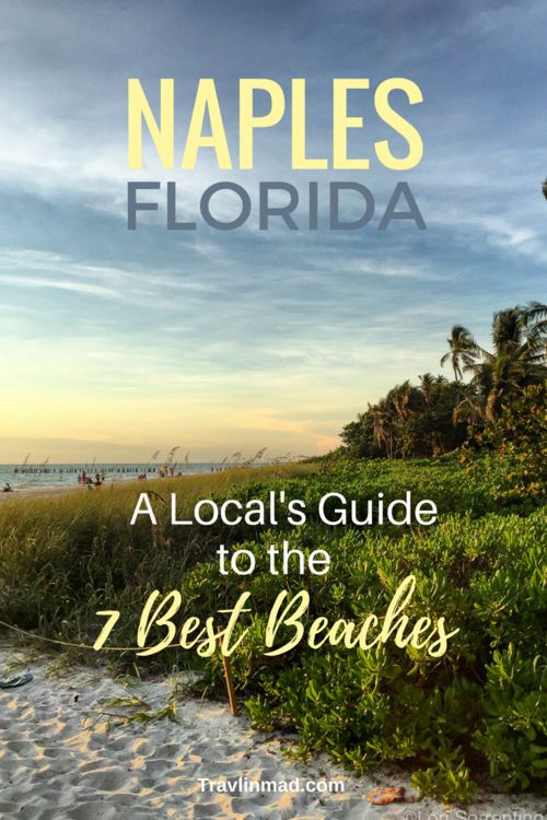 Whether you're looking for a day of family fun, watersports, the best spot for sunset, or exploring the natural dunes, trust a local to share the best beaches in Naples, Florida!