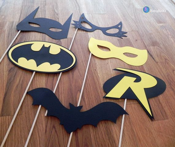 Hey, I found this really awesome Etsy listing at https://www.etsy.com/listing/187720639/superhero-photo-props-the-batman-set