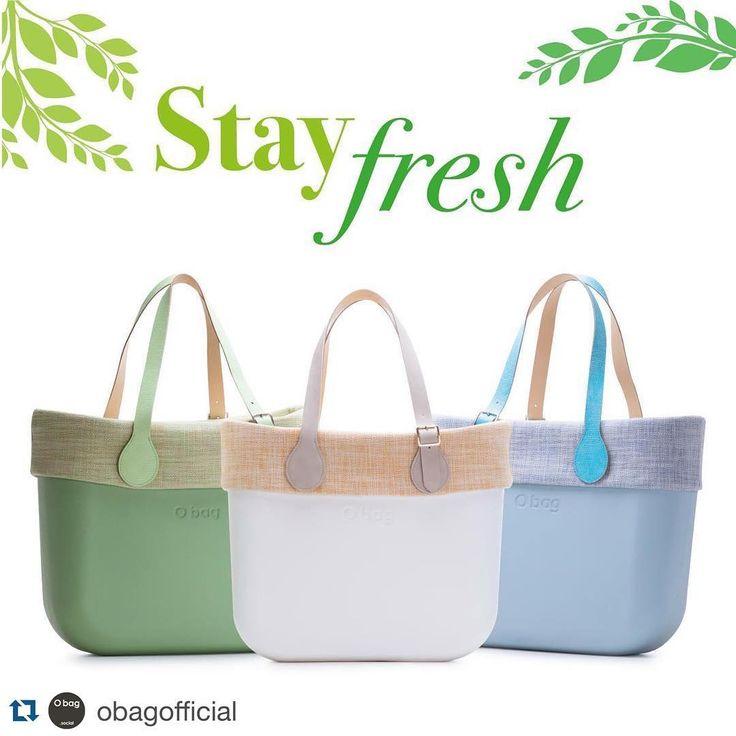 Stay Fresh, Obag con un bordo in lino leggero e dalle linee pulite e essenziali.  www.Obag.com.co