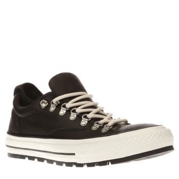 Converse Black Chuck Taylor All Star Descent Allow the Converse Chuck Taylor Descent to kit out your urban adventures this season. Arriving in black, the durable leather lace-up features a cushioned EVA sockliner, a neoprene inner sleeve for a s http://www.MightGet.com/january-2017-13/converse-black-chuck-taylor-all-star-descent.asp