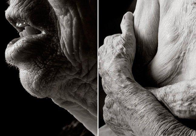 """Quando você pensa em beleza humana, quais as primeiras coisas que surgem na sua mente? Um corpo jovem, bem desenhado, uma pele lisa, um cabelo brilhante, provavelmente alguém atravessando a fase dos 20 anos. A fotógrafa Anastasia Pottinger quis provar que, mesmo depois de um século de vida, a beleza está em todos nós. O ensaio, intitulado """"Centenarians"""" (""""Centenários"""", em português), começou de forma surpreendente – uma mulher de 101 anos de idade pediu a Pottinger para ser fotografada nua…"""