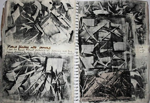 The sketchbook is a place for essential experimentation and research: creative…