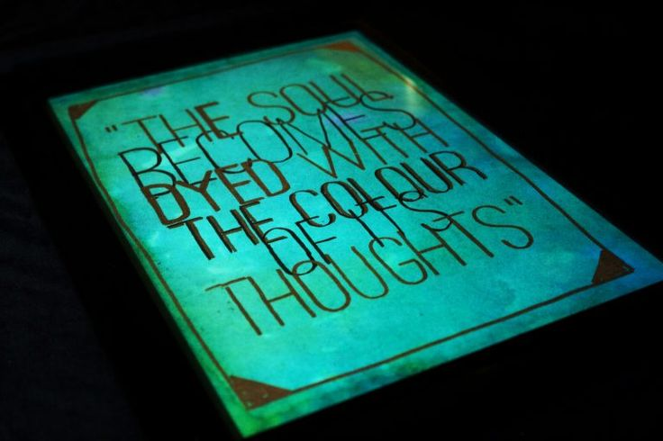 Framed Quotes - BLCK