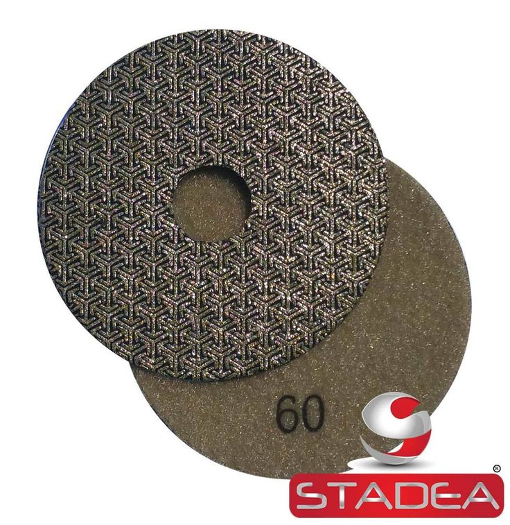 Stadea Electroplated Diamond Polishing Pads Sandpapers with Diamond Grits for concrete polishing, marble polishing, granite polishing, stone polishing