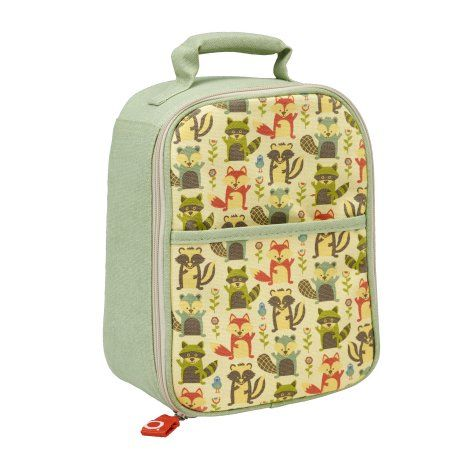 SugarBooger Zippee Lunch Tote What did the Fox Eat, Multicolor