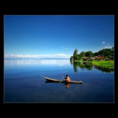 danau toba in north sumatra