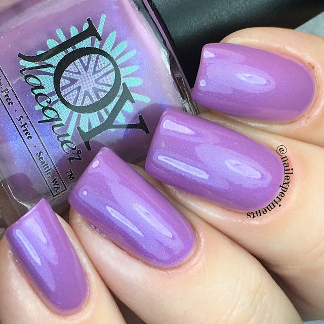 Nail Experiments: JOY LACQUER | 30° DAWN COLLECTION