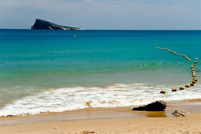 Playa Levante à Benidorm, Alicante - Costa Blanca (Espagne)