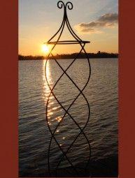 Edelrost Rankhilfe Obelisk