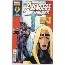 The Avengers United #64 from Marvel/Panini Comics UK. 5th April 2006 issue. In very good condition internally and cover. Bagged and boarded. £2.00