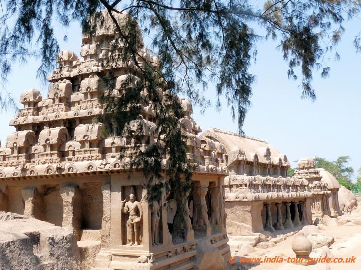 mamallapuram india | ... - monolithic Indian rock-cut architecture at Mamallapuram, India
