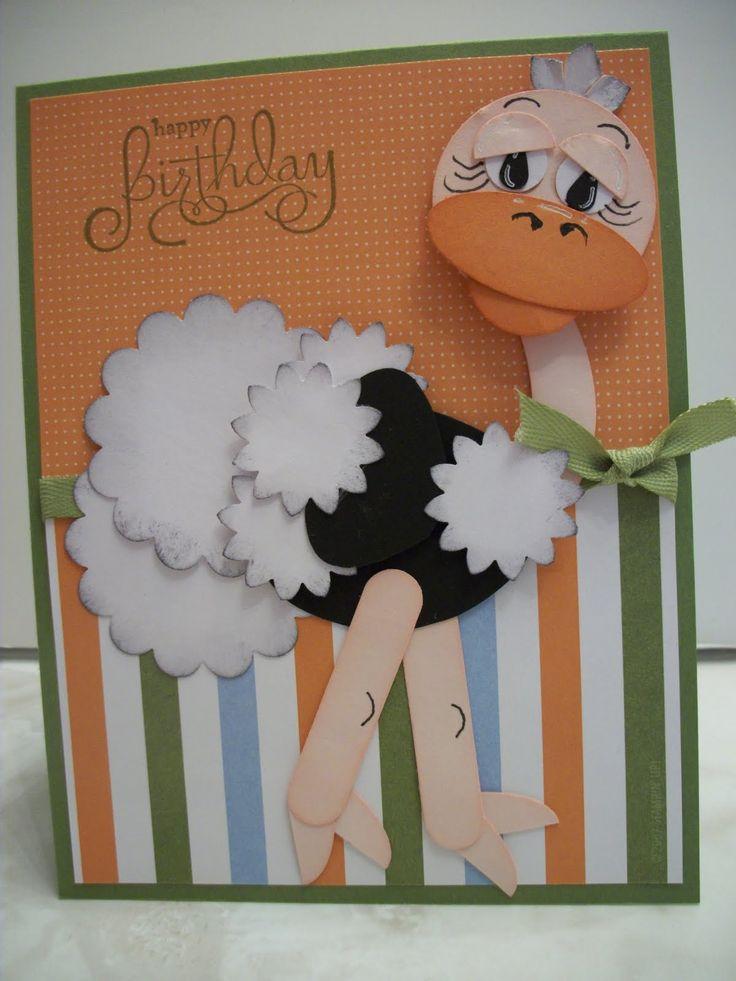 Birthday Card -    punch art - Google Search