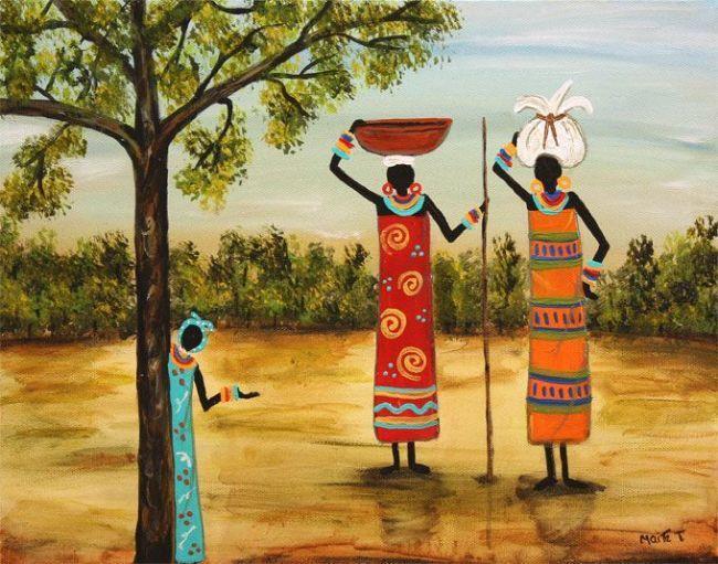 Slave Art Folk Paintings