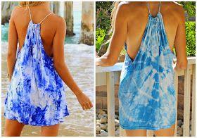 Trash To Couture: DIY TSHIRT DRESS
