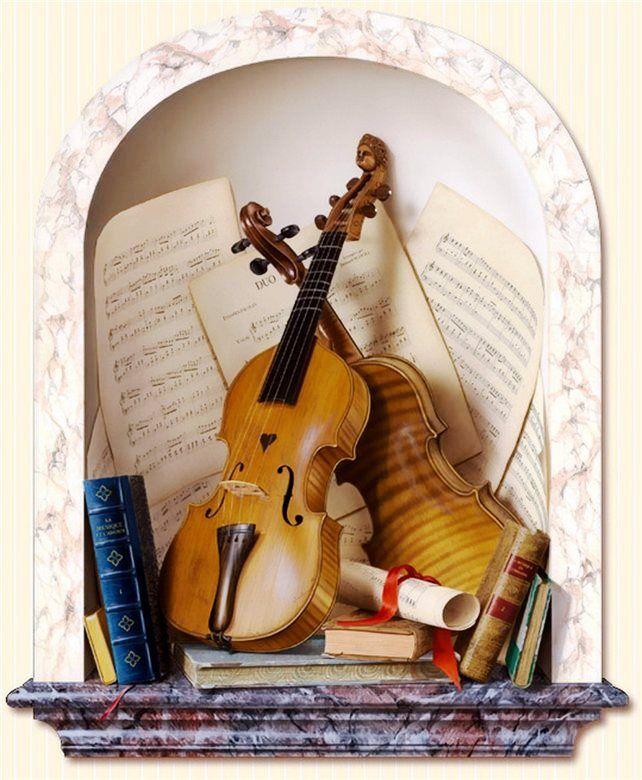Музыкальных открытки из фотографий