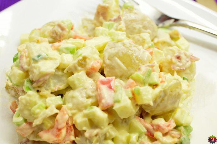 Karfiolos csirkesaláta rozmaringos öntettel, fincsi ízek, fél óra alatt elkészíthető étel!