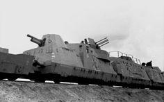 Train blindé de la Wehrmacht.