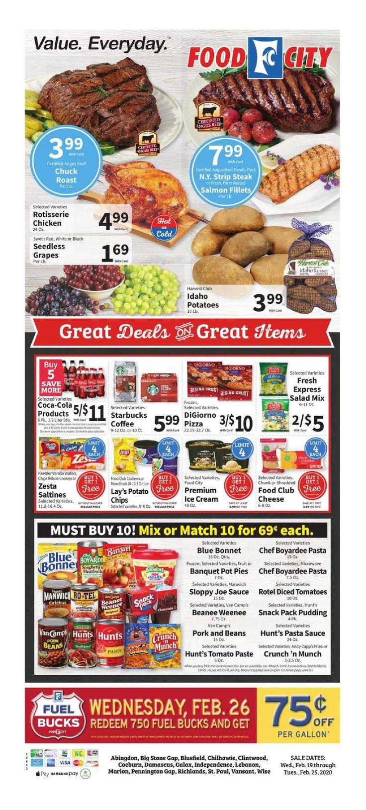 Food lion weekly ad feb 19 feb 25 2020 sneak peek