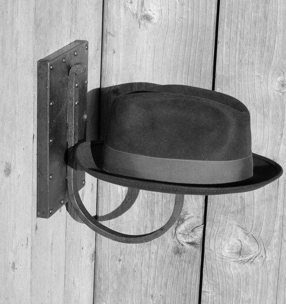 Steampunk // Handforged hat rack on Etsy, 822:91kr