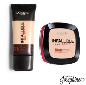 Loreal Infallible Pro Matte Foundation.... Makeup artist Josephine Fusco gives you all the details on the Loreal Infallible Pro Matte Foundation and Powder that you are going to love!