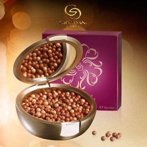 Perlas Bronceadoras Giordani Gold